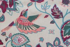 画像12: 「即納J」はぎれ70×50:鳥と花(クリームベース)/105g (12)