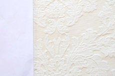画像8: 「即納J」はぎれ70×50:ダマスク(シュニーユ、ジャカード、ホワイト)/105g (8)