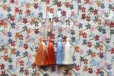 画像5: 「即納J」はぎれ70×50:ゴブラン織り プティット・フルール(小花、アイボリーベースマルチカラー)/105g (5)