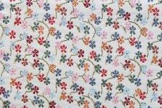 画像10: 「即納J」はぎれ70×50:ゴブラン織り プティット・フルール(小花、アイボリーベースマルチカラー)/105g (10)
