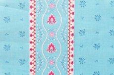 画像9: 「J即納」はぎれ80×50:アヴィニヨンII(プロヴァンス風、ストライプ、水色ベース・ピンク) (9)