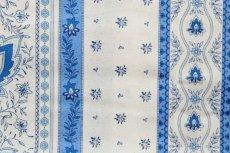 画像14: 「移動中」はぎれ80x50:アヴィニヨンII(プロヴァンス風、ブルー・ホワイト)/80g (14)
