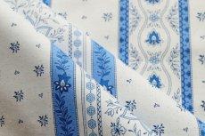 画像4: 「移動中」はぎれ80x50:アヴィニヨンII(プロヴァンス風、ブルー・ホワイト)/80g (4)