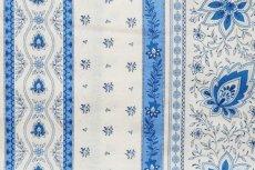 画像9: 「移動中」はぎれ80x50:アヴィニヨンII(プロヴァンス風、ブルー・ホワイト)/80g (9)