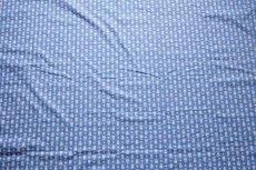 画像9: 「F在庫」はぎれ80x50:シガルー(ブルー)/70g (9)