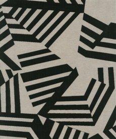 画像1: 「即納F」はぎれ70×50:アルカン(麻色ベース黒)/ 125g (1)