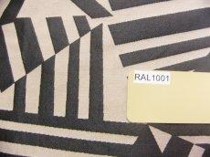 画像12: 「即納F」はぎれ70×50:アルカン(麻色ベース黒)/ 125g (12)
