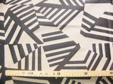 画像3: 「即納F」はぎれ70×50:アルカン(麻色ベース黒)/ 125g (3)