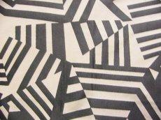 画像10: 「即納F」はぎれ70×50:アルカン(麻色ベース黒)/ 125g (10)
