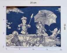 画像4: 「取寄せ」布:水の物語(ブルーベースマリンブルー)/ 380g (4)