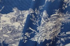 画像1: 「取寄せ」布:水の物語(ブルーベースマリンブルー)/ 380g (1)