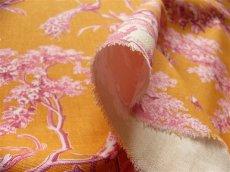 画像7: 「即納J」はぎれ70×50:ブランコに乗った少女(オレンジベースピンク)/ 95g (7)