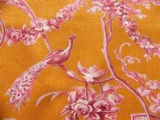 画像9: 「即納J」はぎれ70×50:ブランコに乗った少女(オレンジベースピンク)/ 95g (9)