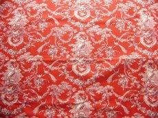 画像3: 「即納F」はぎれ70×50:ブランコに乗った少女(赤ベースボルドー)/ 95g (3)