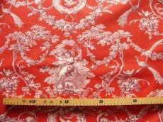 画像4: 「即納F」はぎれ70×50:ブランコに乗った少女(赤ベースボルドー)/ 95g (4)
