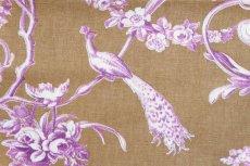 画像11: 「J即納/F在庫」はぎれ70×50:ブランコに乗った少女(キャメルベース紫) (11)