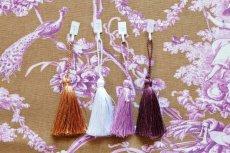 画像12: 「J即納/F在庫」はぎれ70×50:ブランコに乗った少女(キャメルベース紫) (12)