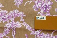 画像14: 「J即納/F在庫」はぎれ70×50:ブランコに乗った少女(キャメルベース紫) (14)