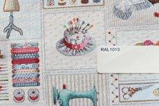 画像14: 「F在庫」はぎれ70×50:ゴブラン織り パッチワーク・クチュール(ベージュベース) (14)