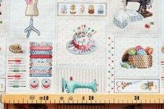 画像3: 「F在庫」はぎれ70×50:ゴブラン織り パッチワーク・クチュール(ベージュベース) (3)