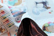 画像6: 「F在庫」はぎれ70×50:ゴブラン織り パッチワーク・クチュール(ベージュベース) (6)
