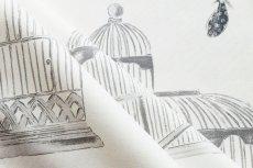 画像6: 「即納J/即納F」廃盤はぎれ70×100:バガテル(生成りベースグレイ)/190g (6)
