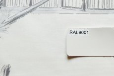 画像4: 「即納J/即納F」廃盤はぎれ70×100:バガテル(生成りベースグレイ)/190g (4)