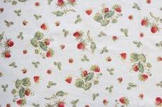 画像9: 「移動中」廃盤はぎれ70x50:アカデミア(オレンジライン、クリーム) /100g (9)