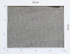 画像3: 「即納J」廃盤はぎれ70x50:アカデミア(赤ライン、クリーム) /100g (3)