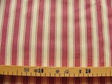 画像2: 「即納F」はぎれ70×50:ルーアン(ストライプ、ボルドー)/ 95g (2)