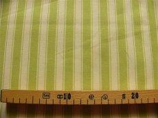 画像2: 「J即納」はぎれ70×50:ルーアン(ストライプ、アニスグリーン)/ 95g (2)
