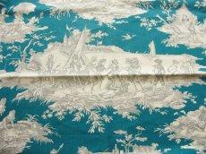 画像10: 「取寄せ」布:水の物語(ブルーグリンベースグレイ) / 380g (10)