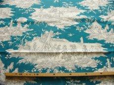 画像3: 「取寄せ」布:水の物語(ブルーグリンベースグレイ) / 380g (3)