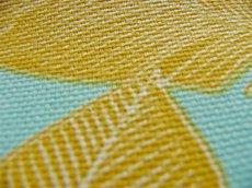 画像5: 「即納F」はぎれ70×50:ラーブル・ボワイヤージェール(水色ベースイエロー) / 95g (5)