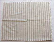 画像2: 「J即納」はぎれ70×50:ルーアン(ストライプ、グレージュ) (2)