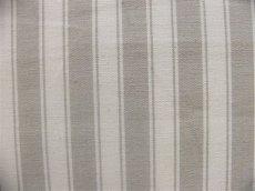 画像1: 「J即納」はぎれ70×50:ルーアン(ストライプ、グレージュ) (1)