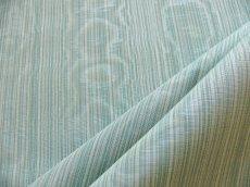 画像1: 「即納F」はぎれ70x50:フィフ(ストライプ、ライトグリーン・ブルー系、モアレ)/105g (1)