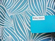 画像11: 「即納J」はぎれ70×50:カカオ(ジャカード、ブルーグリーンベース生成り) / 115g (11)