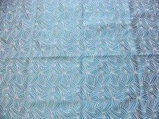 画像7: 「即納J」はぎれ70×50:カカオ(ジャカード、ブルーグリーンベース生成り) / 115g (7)