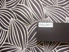 画像11: 「即納J」はぎれ70×50:カカオ(ジャカード、黒ベース麻色) / 115g (11)
