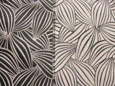 画像10: 「即納J」はぎれ70×50:カカオ(ジャカード、黒ベース麻色) / 115g (10)
