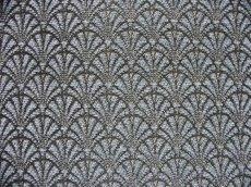画像1: 「即納F」はぎれ70×50:マニフィーク(ジャカード、空色)/155g (1)