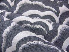 画像4: 「即納J」はぎれ70×50:オーサカ(ジャカード、グレイ)/120g (4)