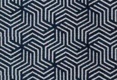 画像1: 「即納F」はぎれ69×50:ヴェルティゴ(ジャカード、マリンブルー)/155g (1)