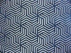 画像9: 「即納F」はぎれ69×50:ヴェルティゴ(ジャカード、マリンブルー)/155g (9)