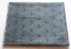 画像2: 「即納F」はぎれ69×50:ヴェルティゴ(ジャカード、ブルーパン)/155g (2)