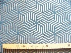 画像3: 「即納F」はぎれ69×50:ヴェルティゴ(ジャカード、ブルーパン)/155g (3)