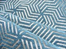 画像5: 「即納F」はぎれ69×50:ヴェルティゴ(ジャカード、ブルーパン)/155g (5)