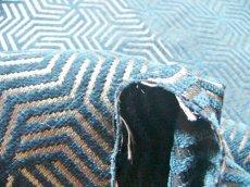 画像6: 「即納F」はぎれ69×50:ヴェルティゴ(ジャカード、ブルーパン)/155g (6)