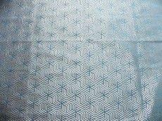 画像8: 「即納F」はぎれ69×50:ヴェルティゴ(ジャカード、ブルーパン)/155g (8)
